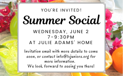 Join Us for a June Social