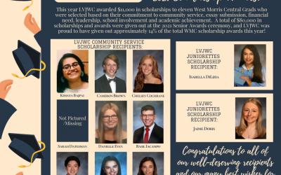 LVJWC Awards 11k in Scholarships to 2021 WMC Grads