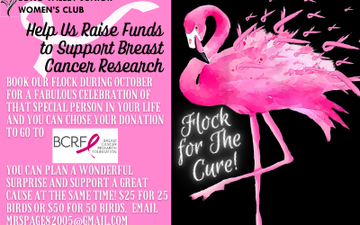 Book your Flamingo Flock to Support Breast Cancer Research Today!